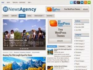 NewsAgency - Free Wordpress Theme