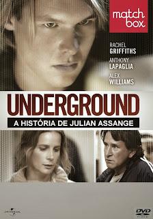 Underground: A História de Julian Assange - DVDRip Dual Áudio