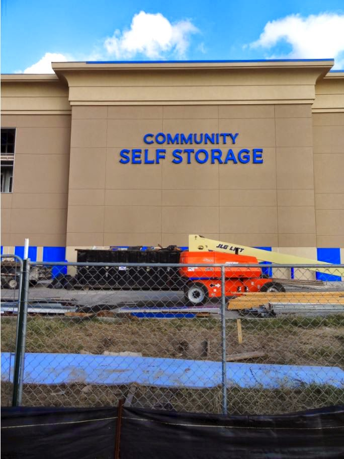 Community Self Storage Nearing Completion On Eldridge Pkwy