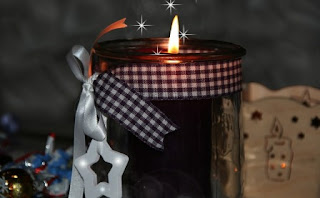 candele natale foto