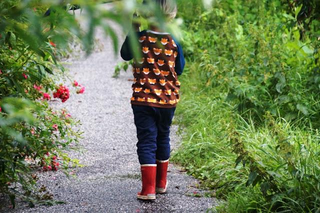 Fox Safari Raglan sewn by huisje boompje boefjes