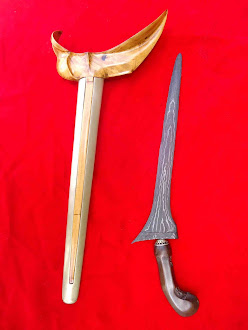 keris pamor ujung gunung