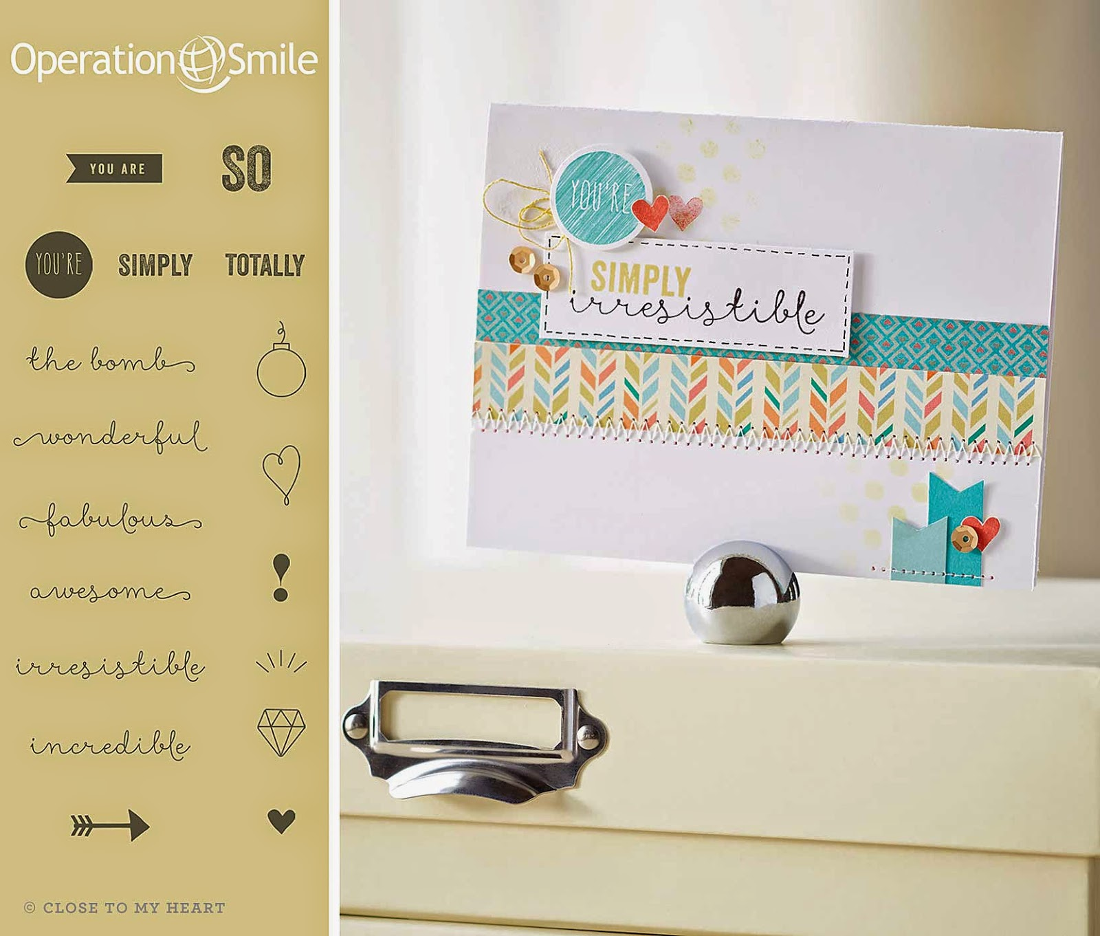 Operation Smile Stamp Set