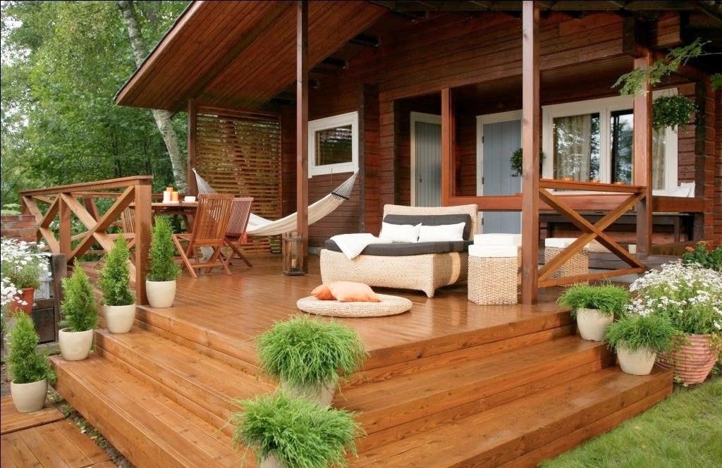 Террасы деревянных домов фото 57