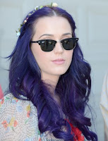 Katy Perry with Summer Sunglasses