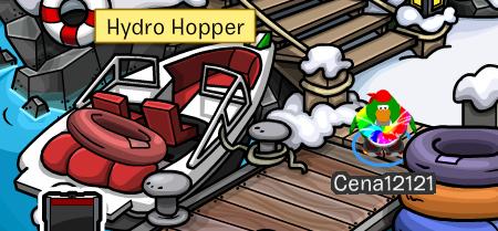 Club Penguin Hydro Hopper cheats Dock