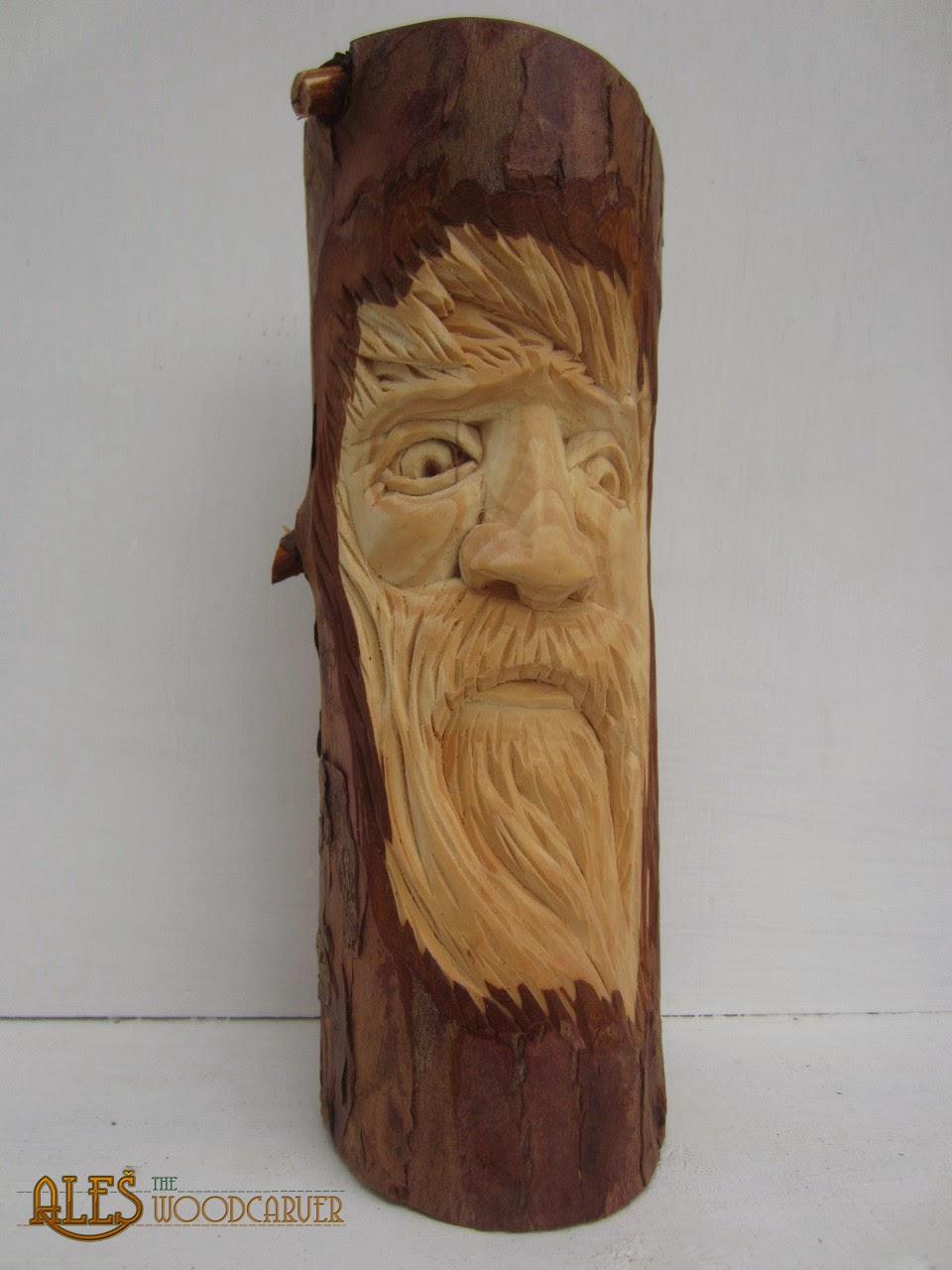 Ales the woodcarver wood spirits