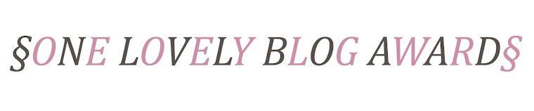Premio lovely Blog Award da la Cuccia di Camilla
