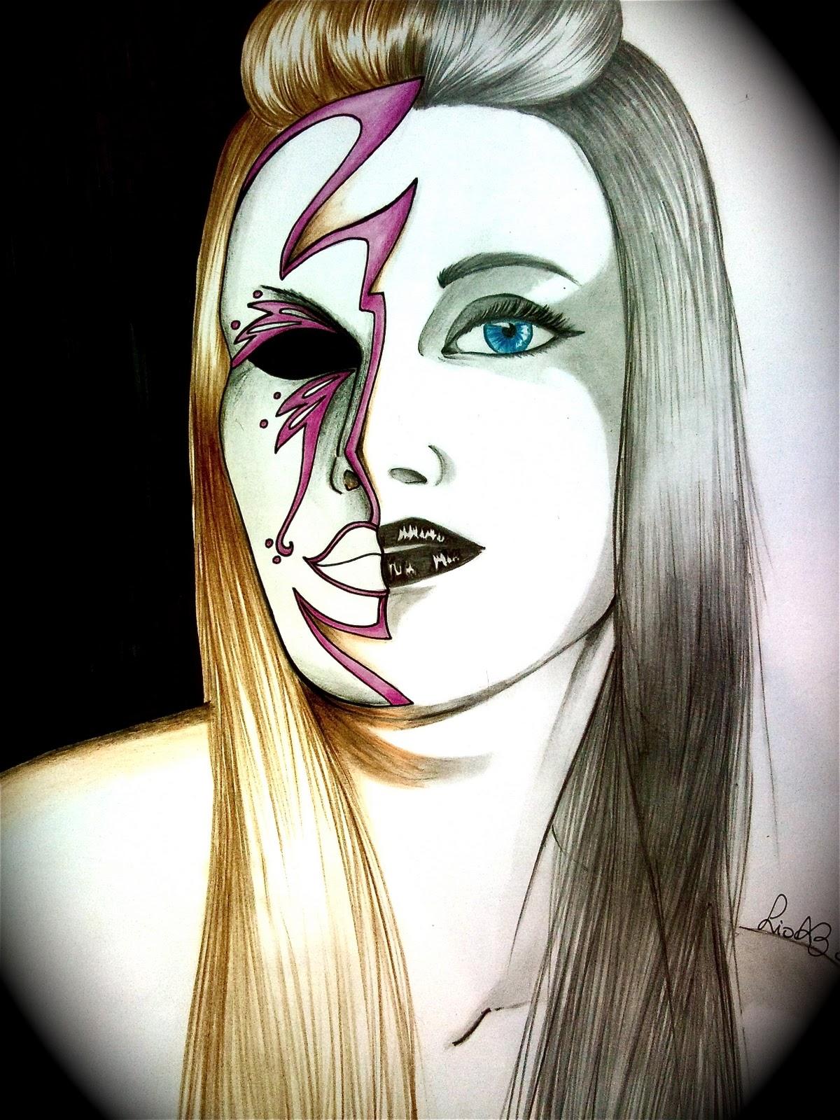 La magia del disegno - Immagine di una ragazza a colori ...