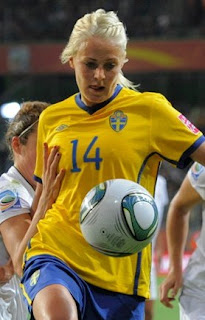 Josefine Oqvist Swedish Footballer