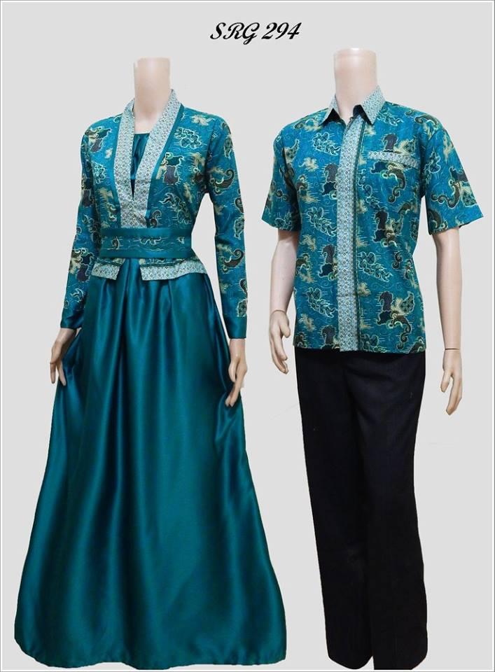 Model Baju Batik Gamis Srg 294
