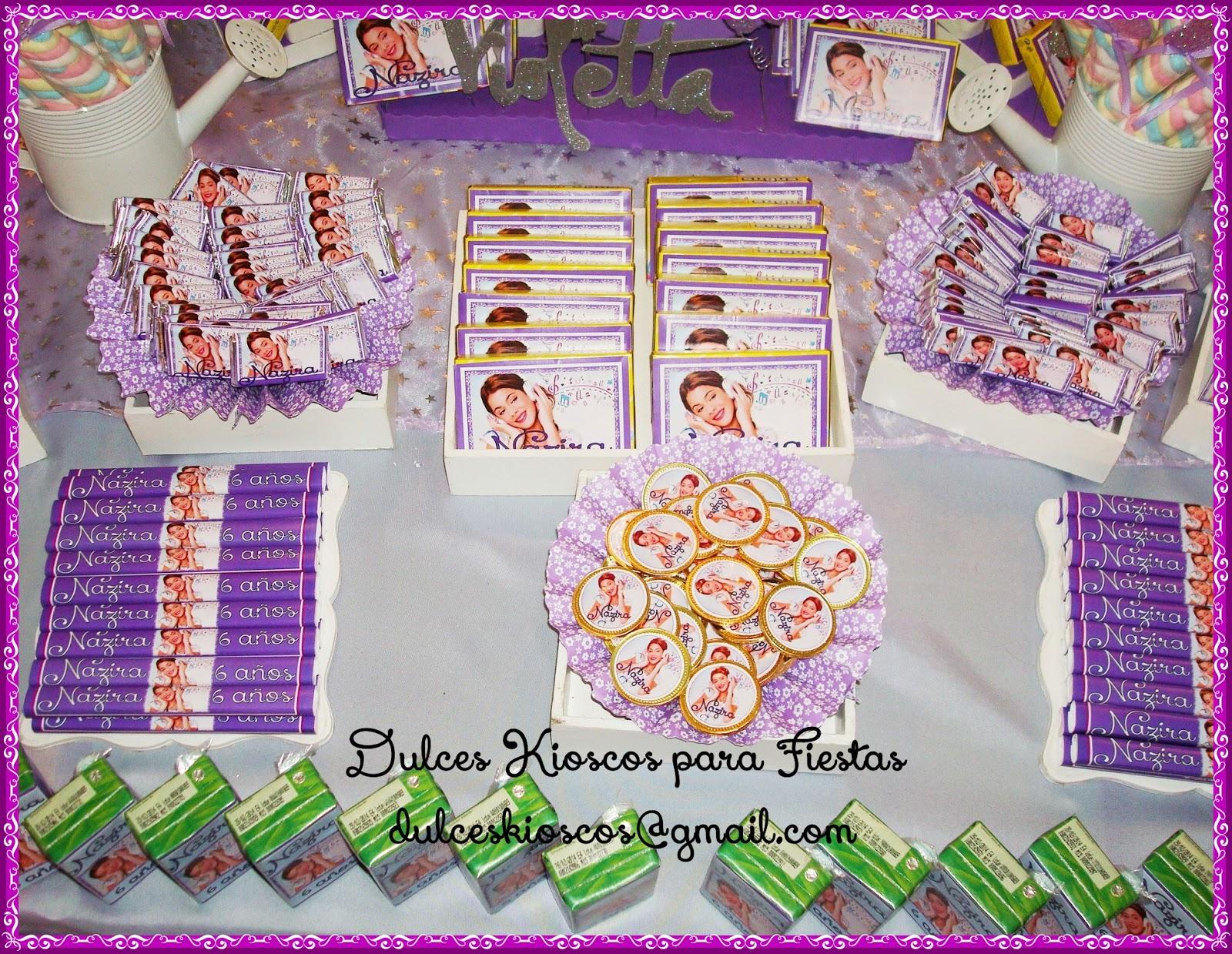 Decoracion Kiosco Golosinas ~ 25 De Violetta Un Super Kiosco Tem&225tico Lleno Golosinas