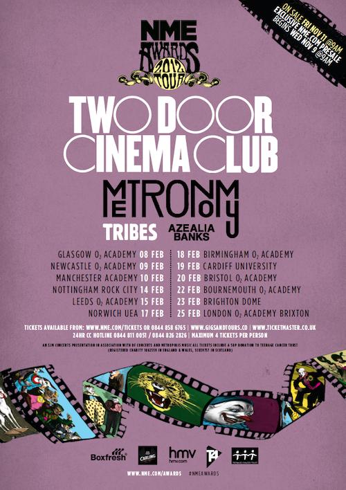 Nme Awards Tour  Line Up