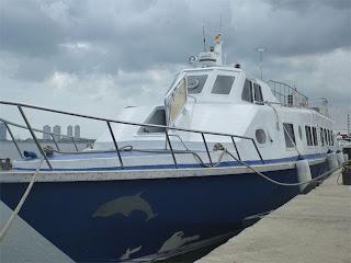 Kapal Lumba-Lumba ke Pulau Tidung