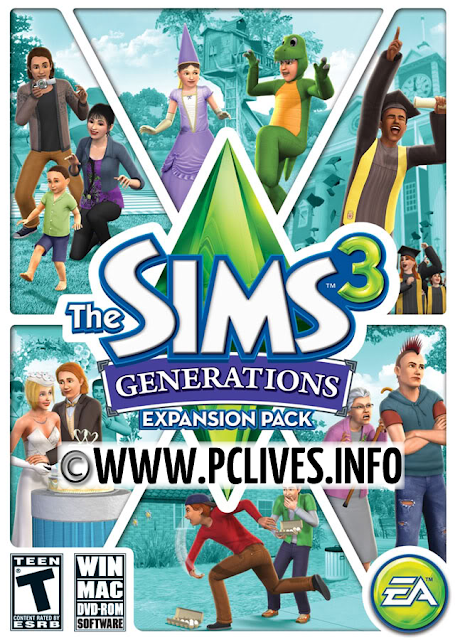 download full version free expansion pack The Sims 3: Generations