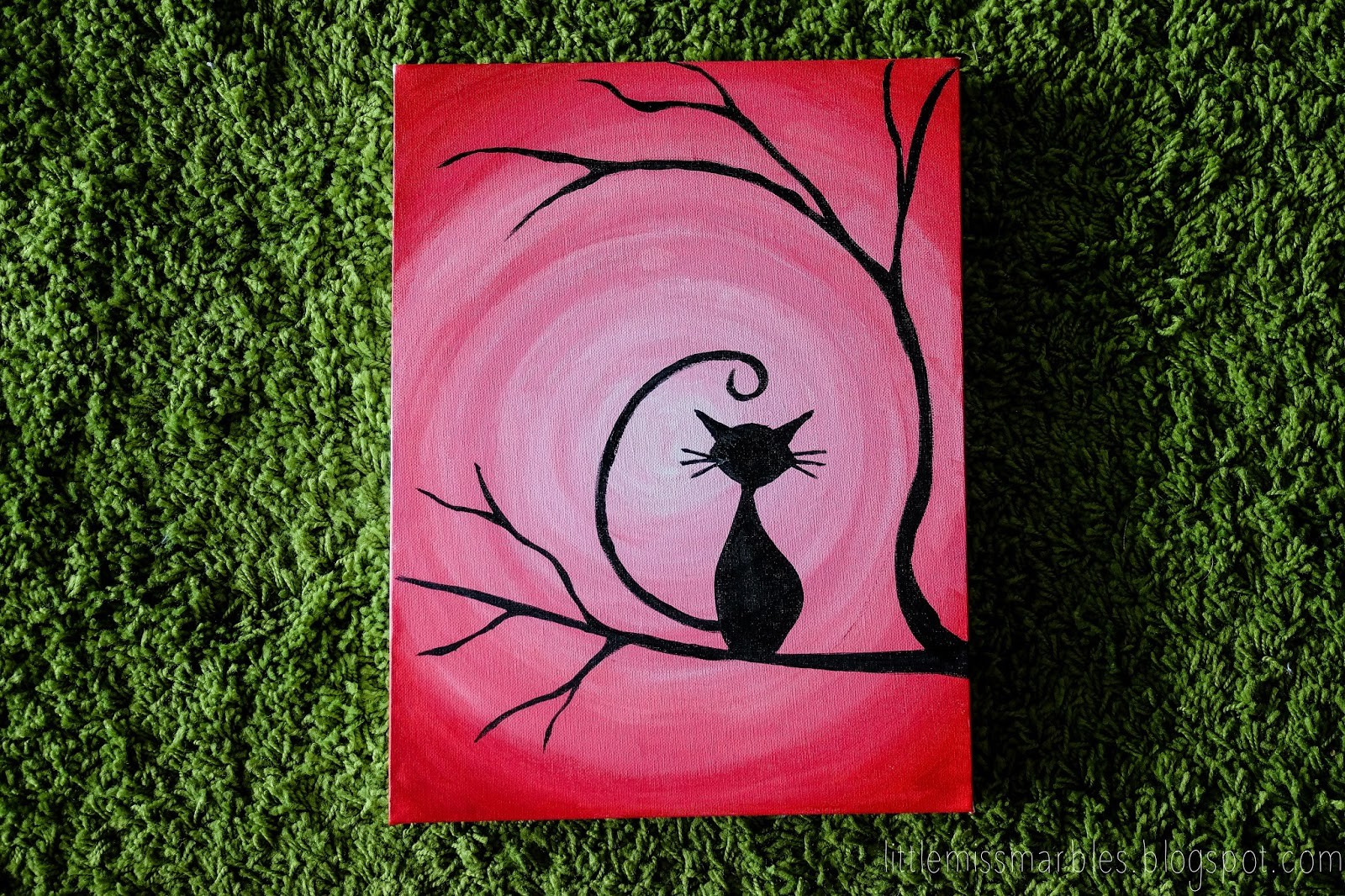 Little miss marbles a hidden talent for Easy to paint paintings