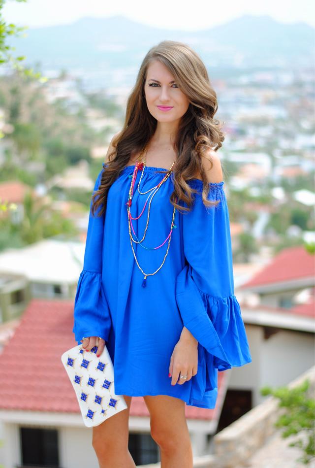 Bright Blue Dresses