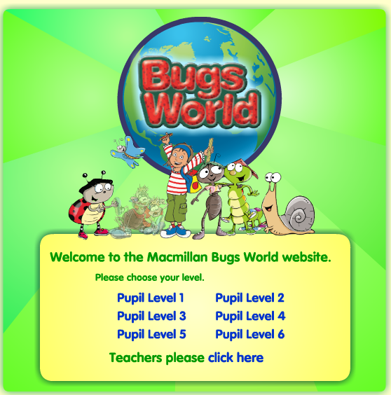 Bugs World Web: Summer