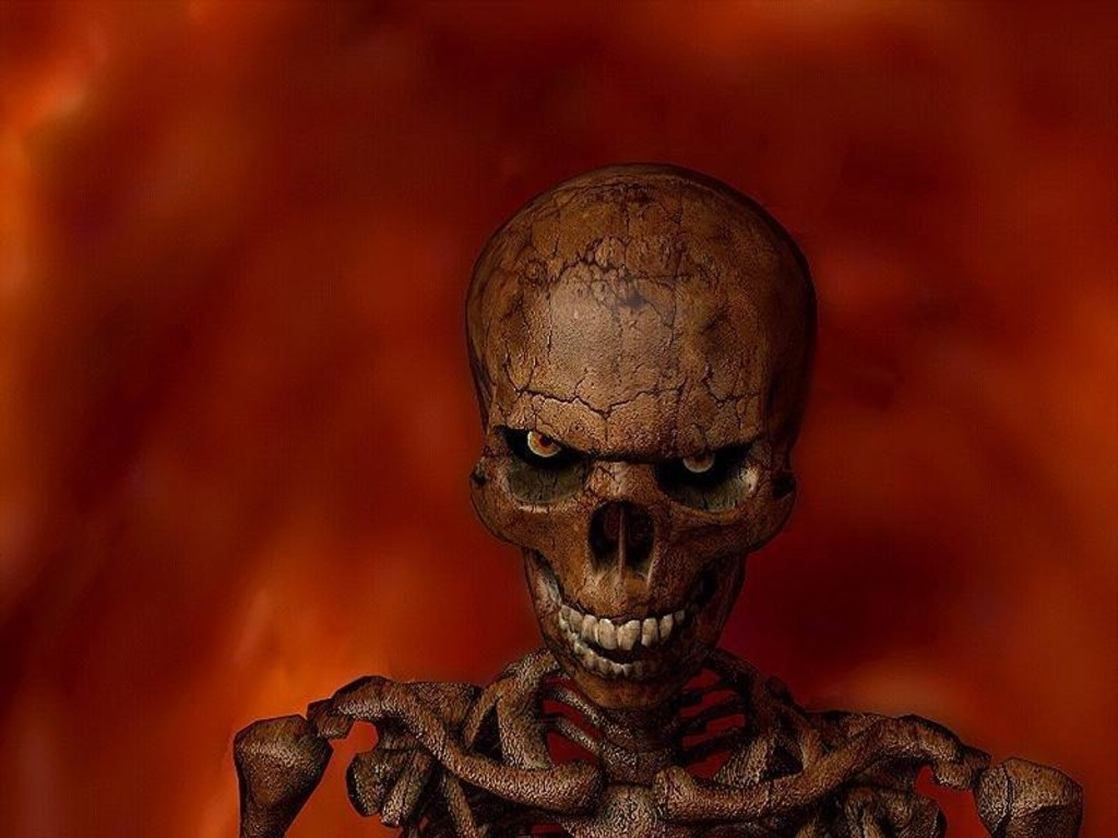 scary wallpapers skull horor picture