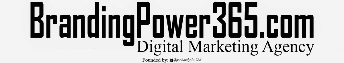 #BrandingPower365/Digital Marketing Agency/Miami, FL./RichardJohn786/RJO Ventures, Inc.