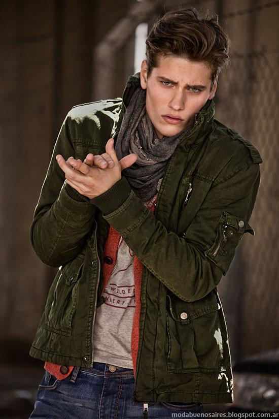 Tannery invierno 2015 moda hombre camperas.