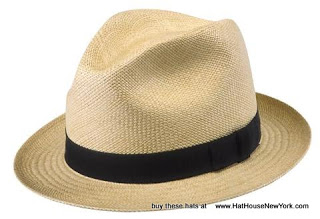Stingy or Narrrow Brim Panama Hat from The Hat House NY