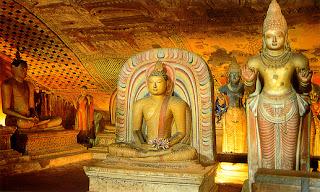 Il Tempio d'Oro di Dambulla (Sri Lanka) - Le Meraviglie della Natura