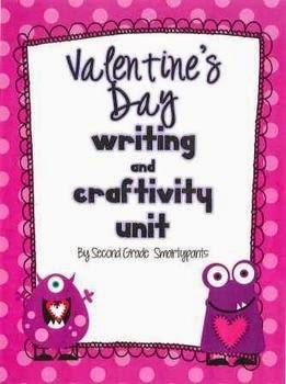 https://www.teacherspayteachers.com/Product/Valentines-Day-Writing-and-Craftivity-Unit-537111