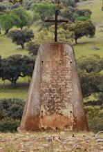 Memorial no Monte do Farrobo