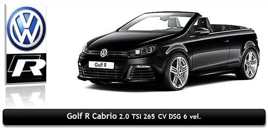VW Golf Cabrio R TSI 265 CV