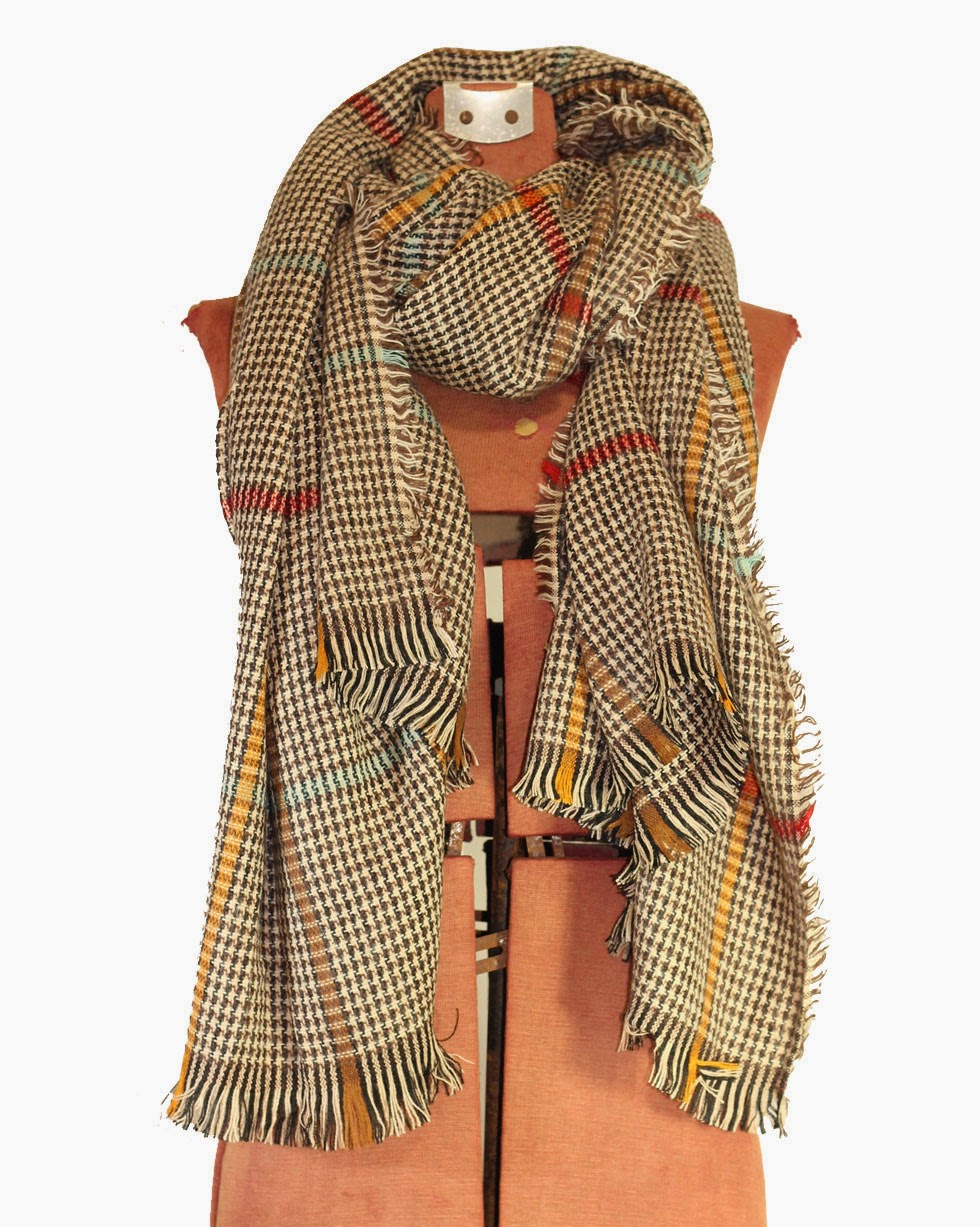 http://www.swankboutiqueonline.com/oversized-raw-edge-plaid-scarf-in-espresso/