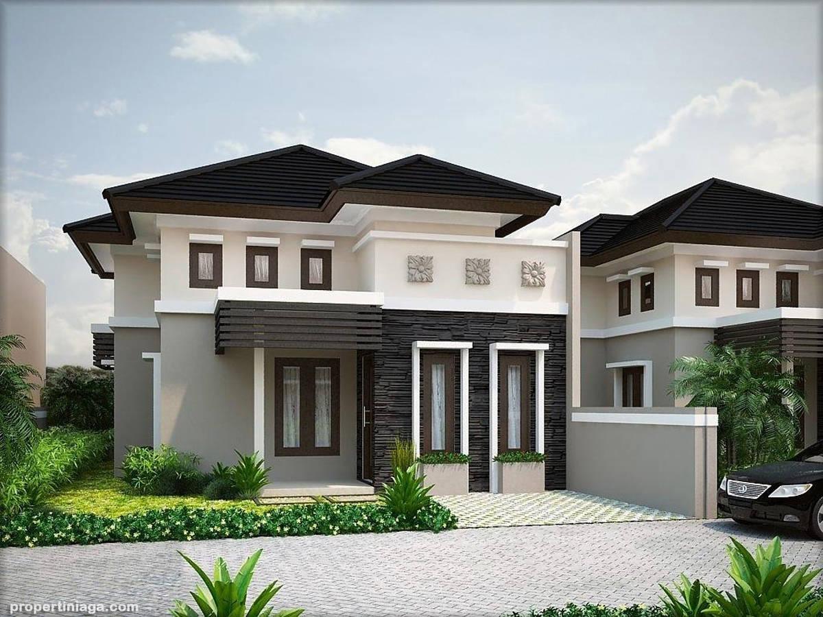 Desain rumah bergaya minimalis dengan berbagai tipe banyak digemari