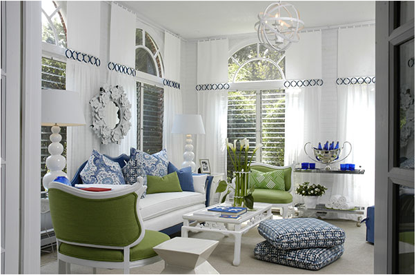 kitchen design ideas: blue and green living rooms