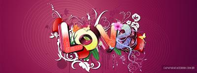 Capa para o Facebook de Amor