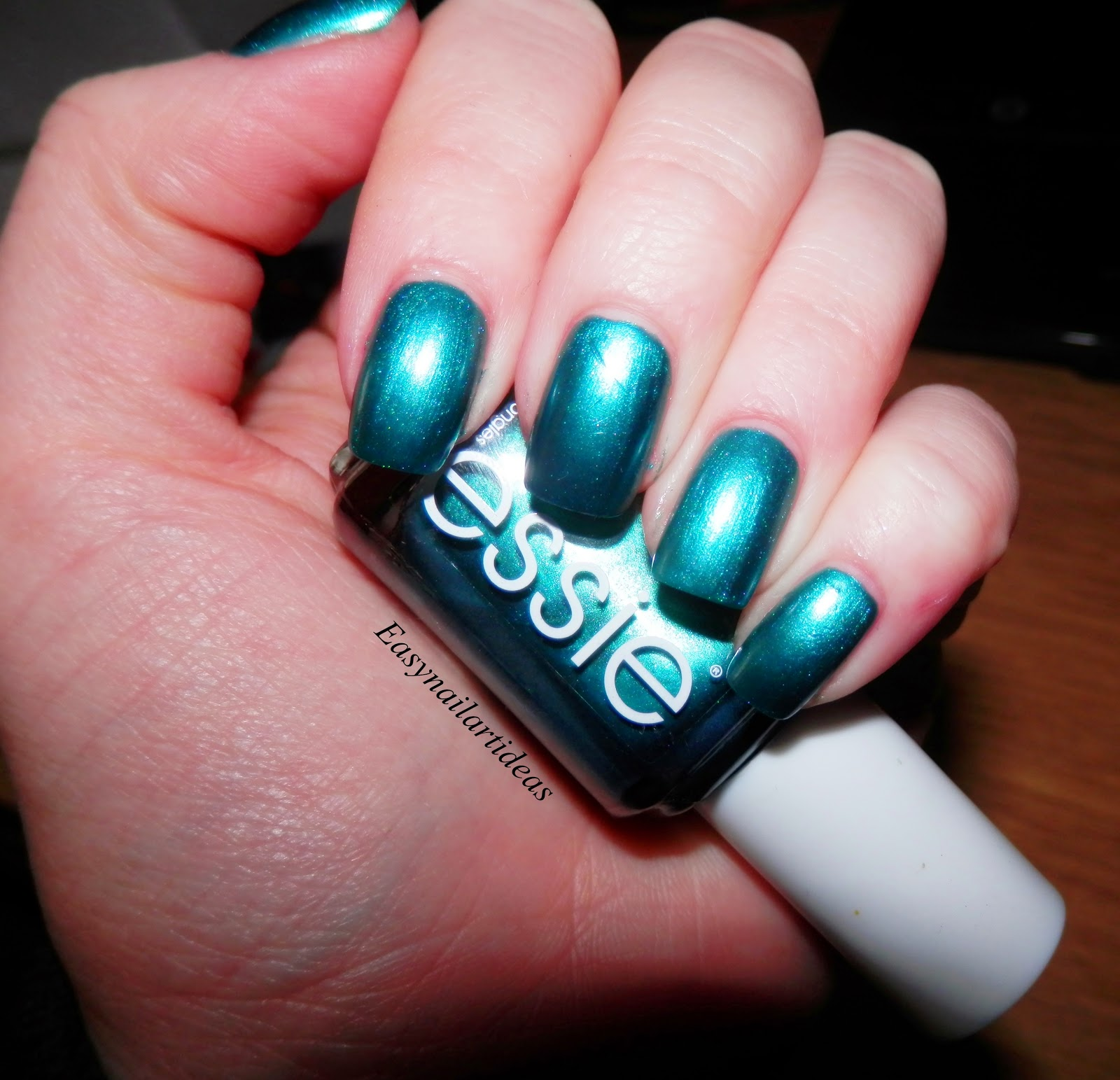 Easy Nail Art And Make Up Ideas Peacock Feathers Nails Step By