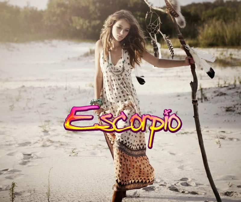 Zodiaco Mujer signo de Escorpion