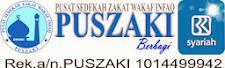 DONASI (PUSZAKI) PUSAT ZAKAT SEDEKAH WAKAF INFAQ INDONESIA
