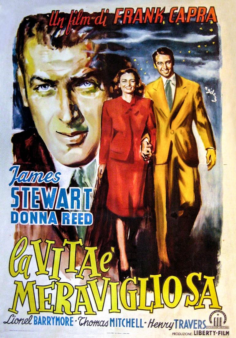 Cinema E Teatro La Vita Meravigliosa It 39 S A Wonderful Life Frank Capra