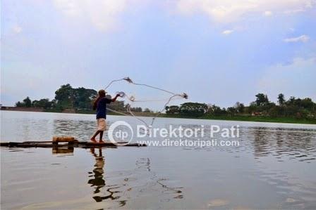 Waduk Gunung Rowo Jebol, Nelayan Dilarang Mendekati Tower