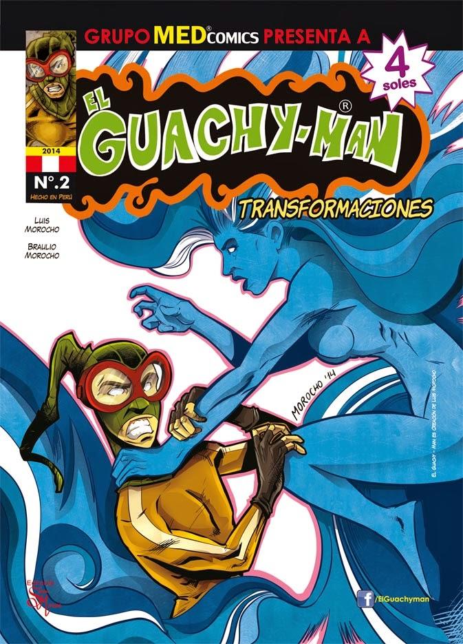SETIEMBRE 2014 N.2: EL GUACHY-MAN / KIOSCOS