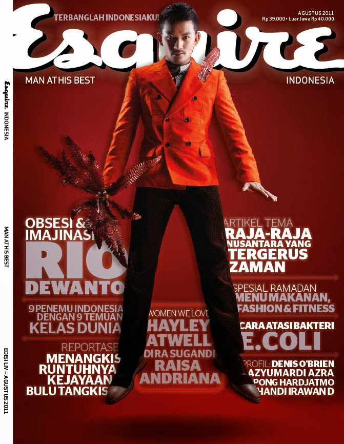 MY WORK FOR ESQUIRE INDONESIA