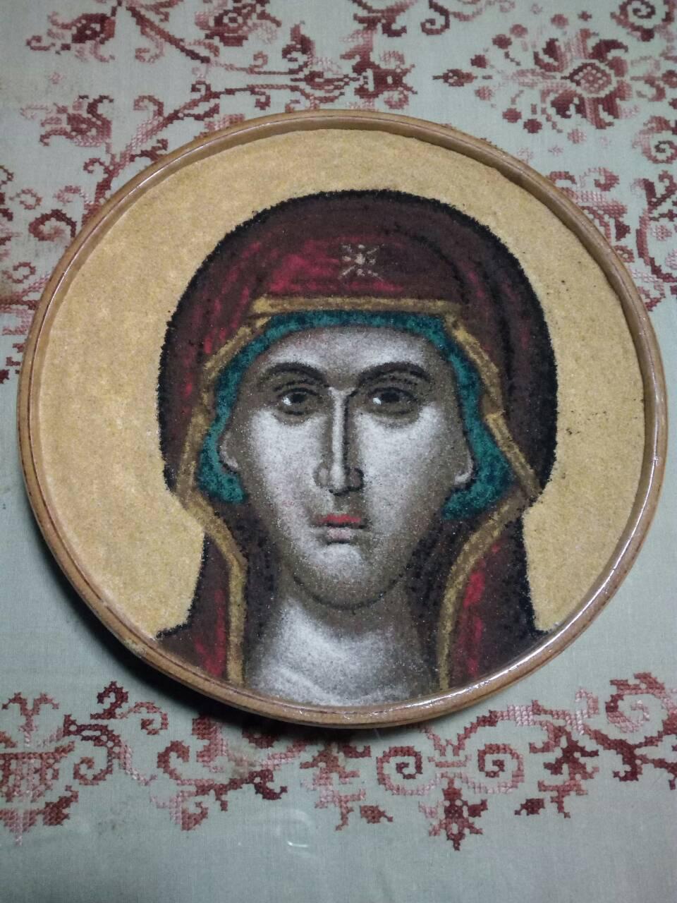 Κόλλυβα φιλοτεχνημένα απο τους Πατέρες της Ιεράς Μονής Προφήτη Ηλία Ερυθρών