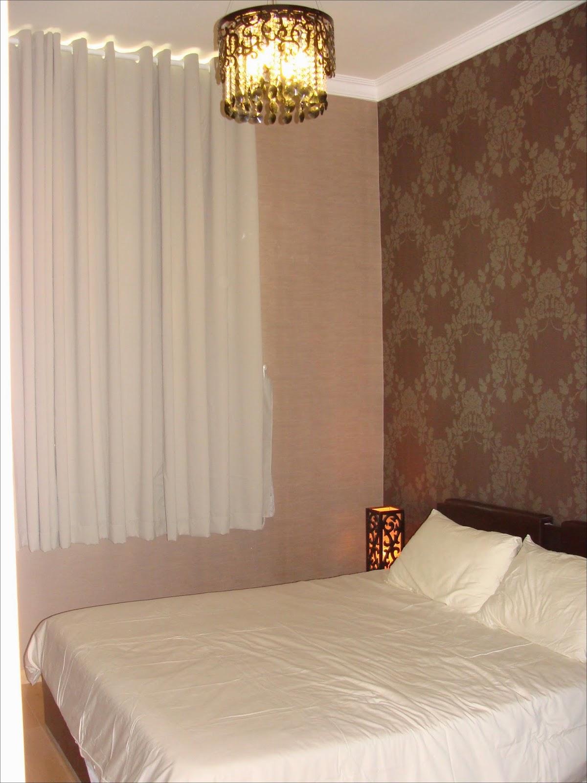 Phòng ngủ phụ căn hộ The Vista
