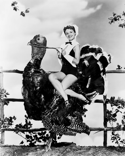 vintage thanksgiving pinup