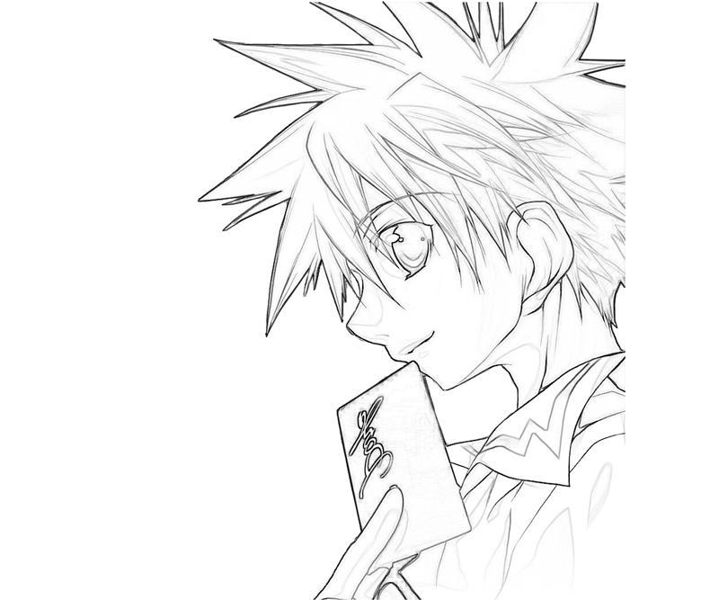 printable-daisuke-niwa-character_coloring-pages-3