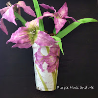 http://plumperfectandme.blogspot.com/2015/05/foam-lilies-and-pot-framed-diy.html