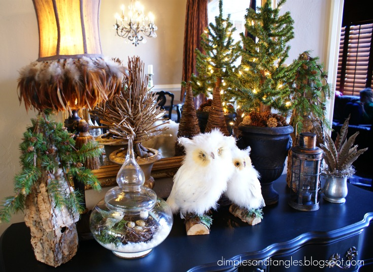 I Re Purposed Some Things Had Out For Fall And Christmas But Was Going More Of A Winter Y January Theme
