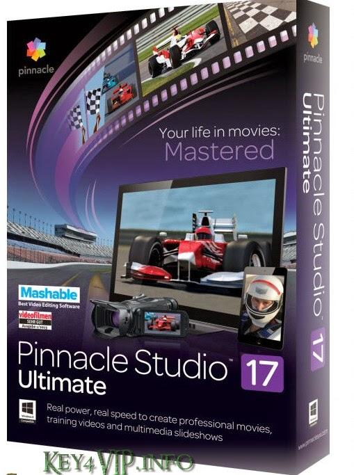 Pinnacle Studio 17 Ultimate 17.0.2.137 Multilingual Full,Phần mềm làm Phim chuyên nghiệp