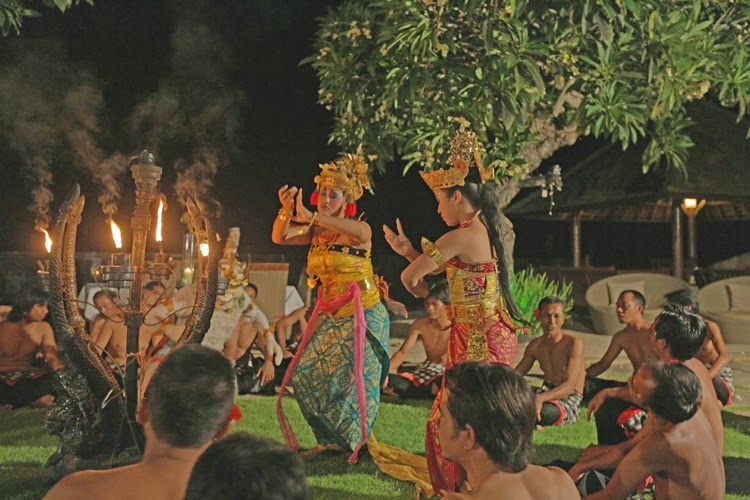 Traditional Kecak Dance Bali Indonesia Asiadance
