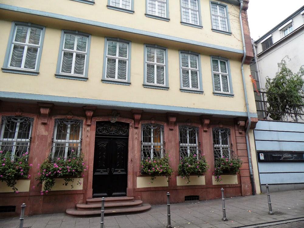 Goethehaus, Fankfurt, by Andie Gilmour